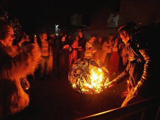 Burning Man festival in Kyiv