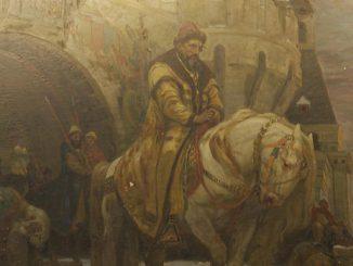 Stolen Ivan the Terrible painting returned to Ukraine
